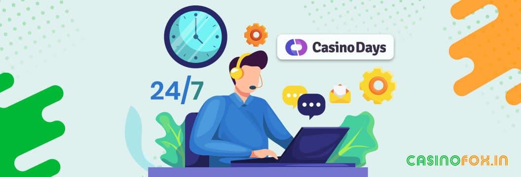Casino Days Customer Support India