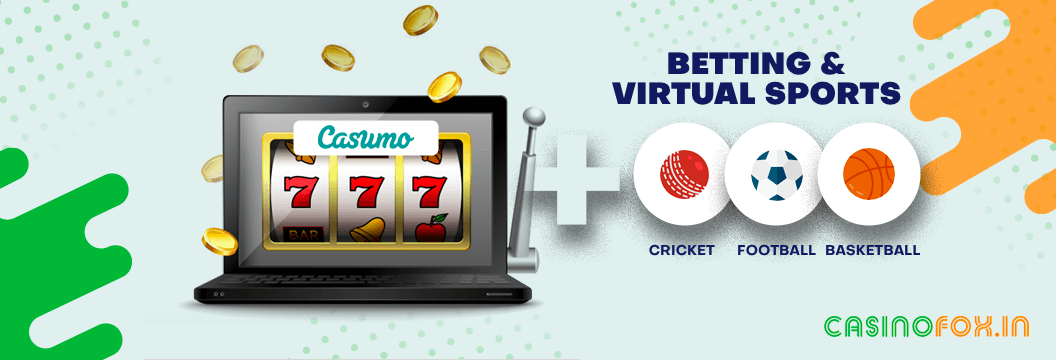 Casumo Betting and Virtual Sports in India