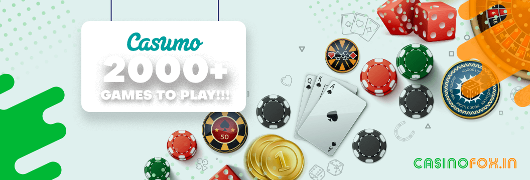 Online Casino Games and Slots at Casumo