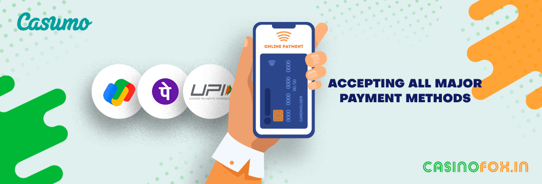 Review of Payment Methods accepted by Casumo