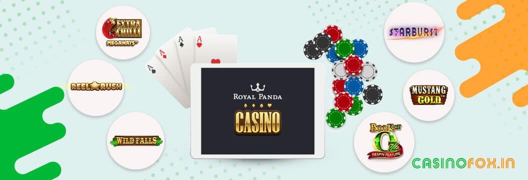 available casino games at royal panda