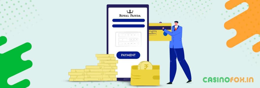 royal panda deposit methods