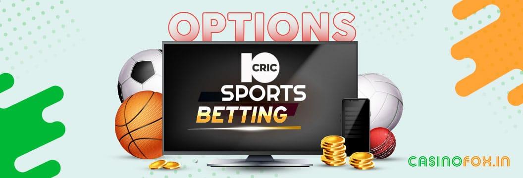 10Cric sports betting india