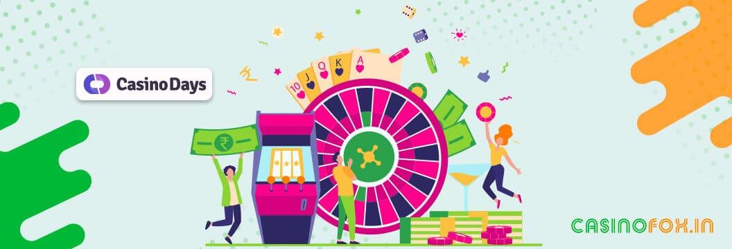 various gambling options at casino days