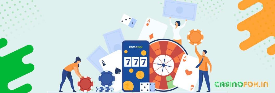 casino games at comeon