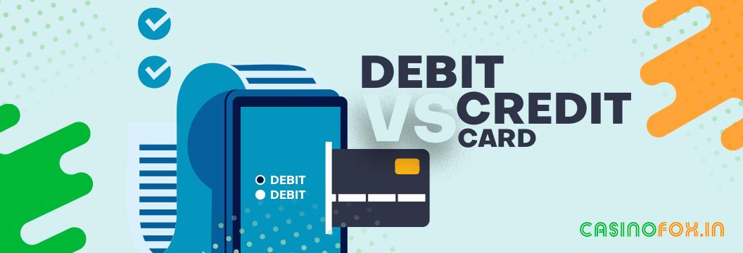 debit card vs credit cards