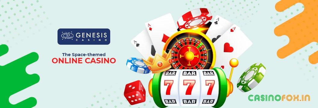 genesis casino space theme