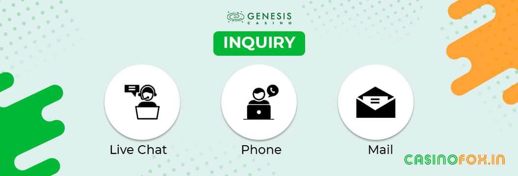 genesis customer support india