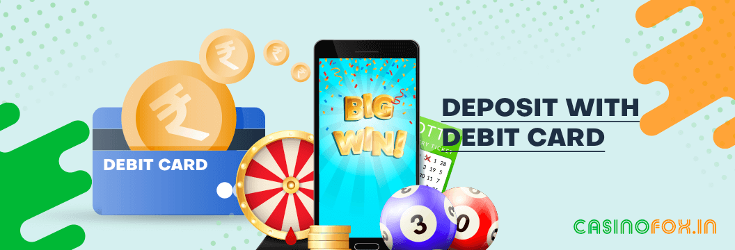 How to use Debit card at online casinos