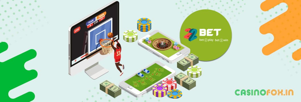 games at 22bet india casino