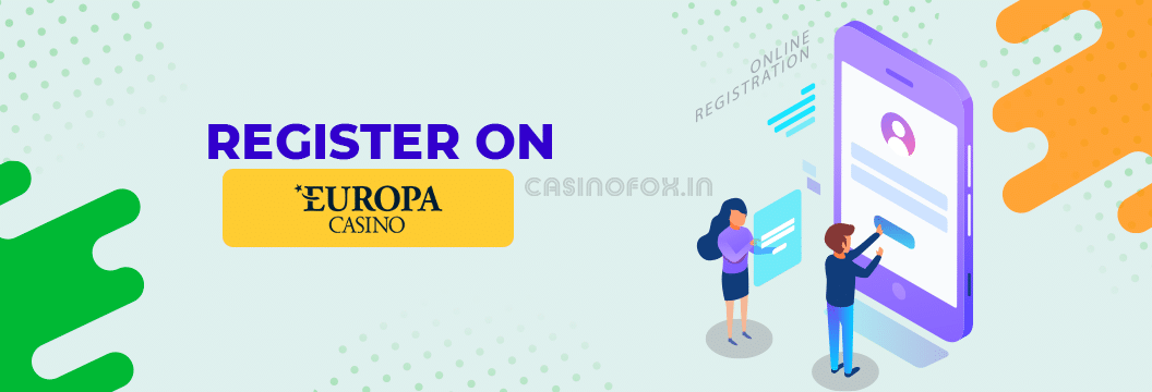 how to register on europa