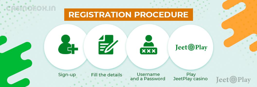 jeetplay registration procedure