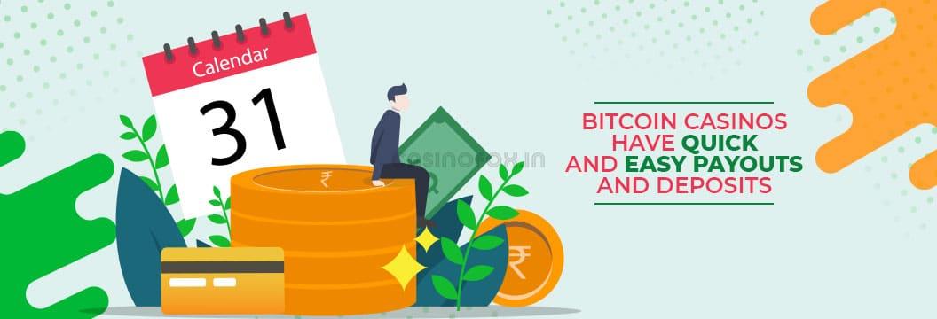 why choose bitcoin casino