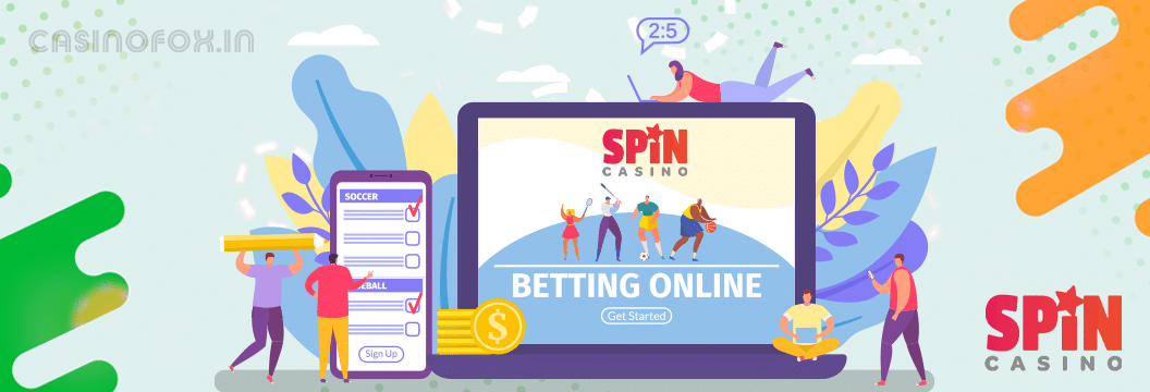 sports betting on spin casino