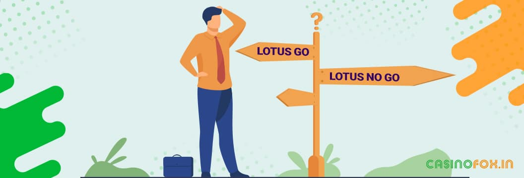 lotus book - don't bet on this site